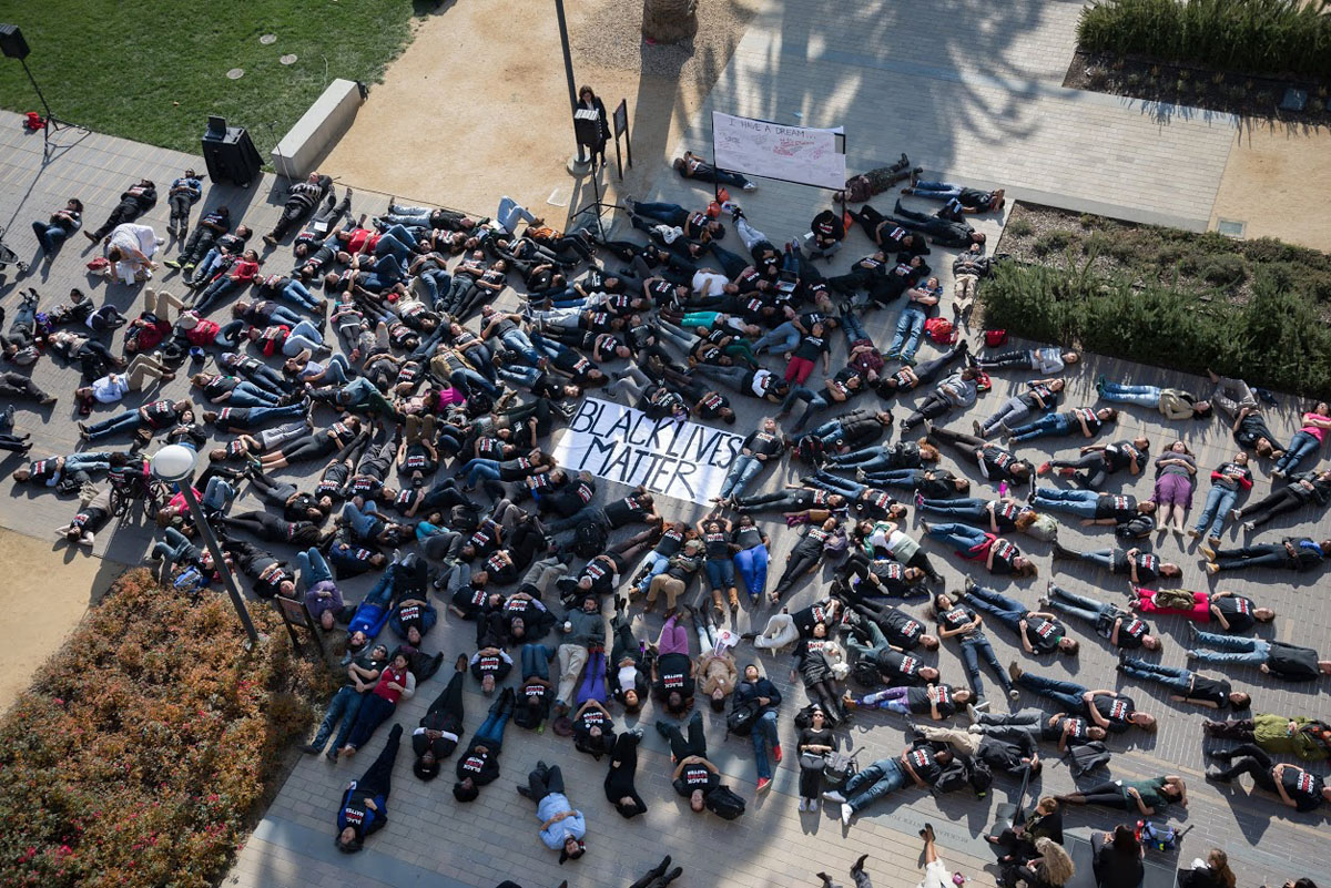 Die In Staged To Protest Killings News Center