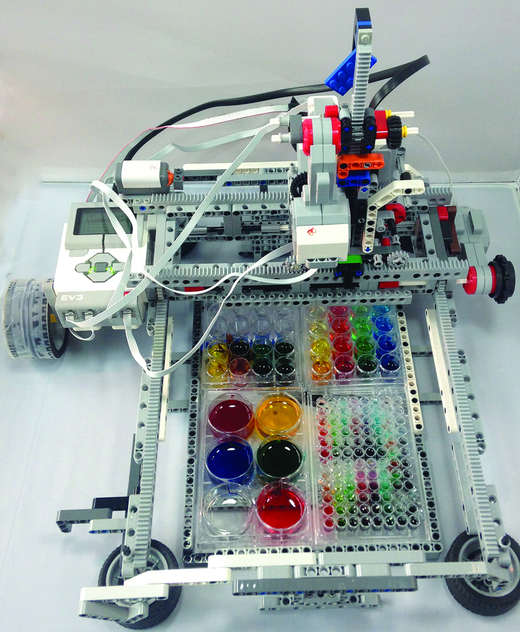 Adapted DIY robotics kit gives STEM students tools to