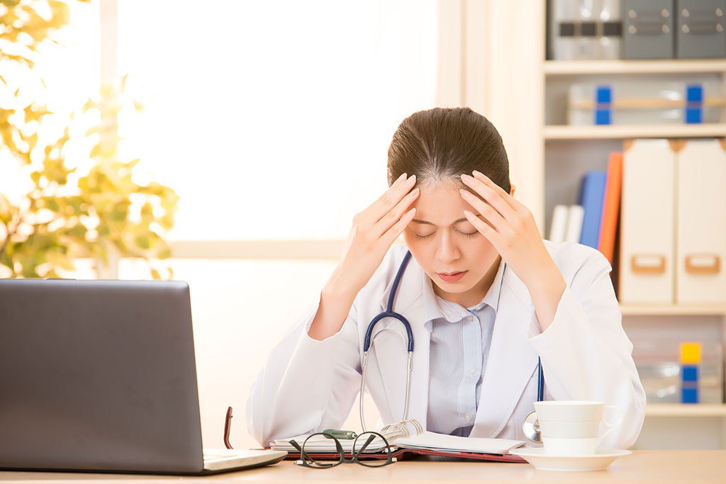 Medical errors may stem more from physician burnout than