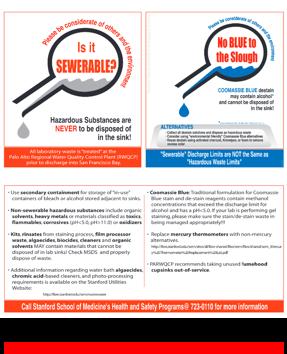 safe practices for disposing of hazardous substances