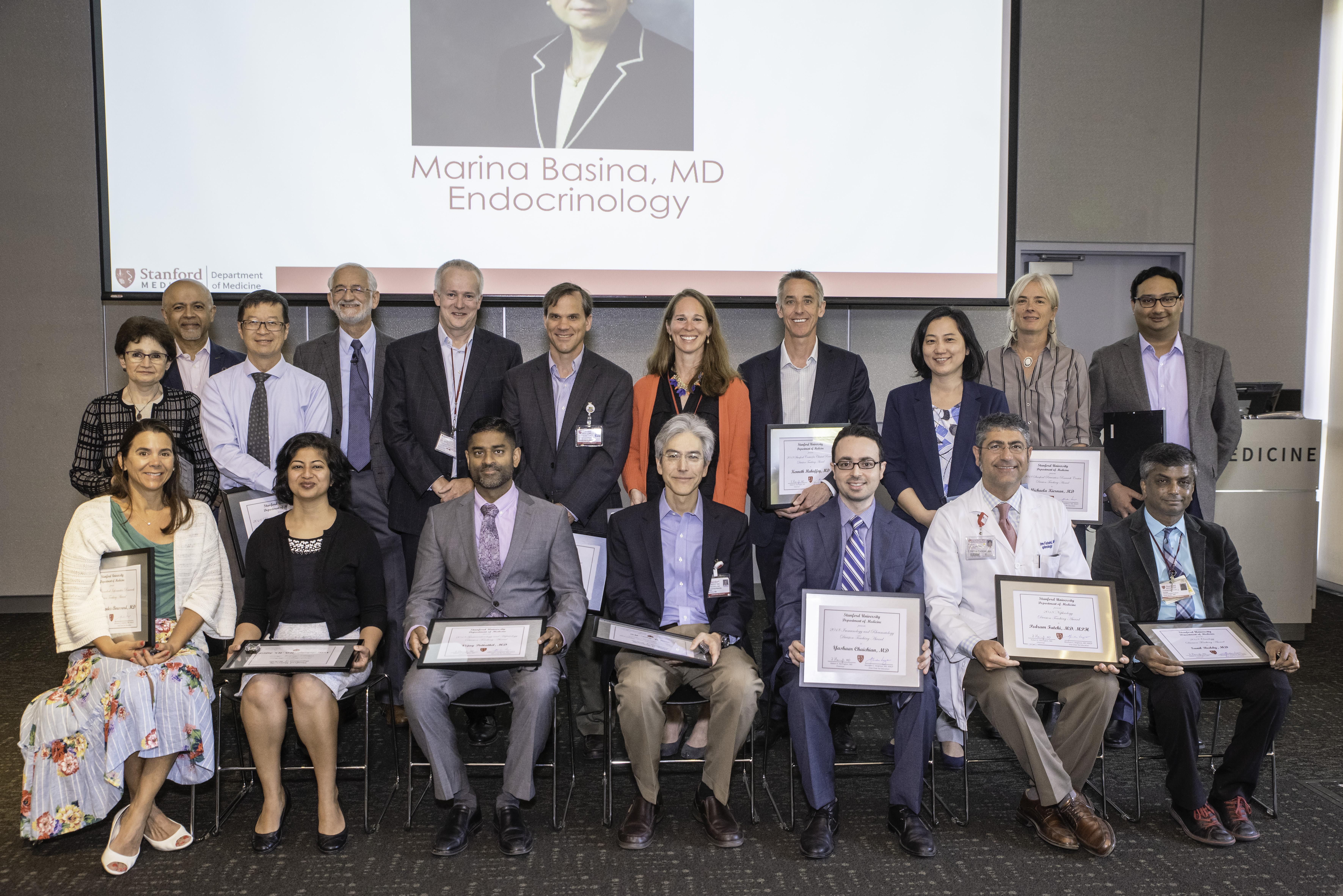 2019 Teaching Awards | Department of Medicine News | Stanford Medicine