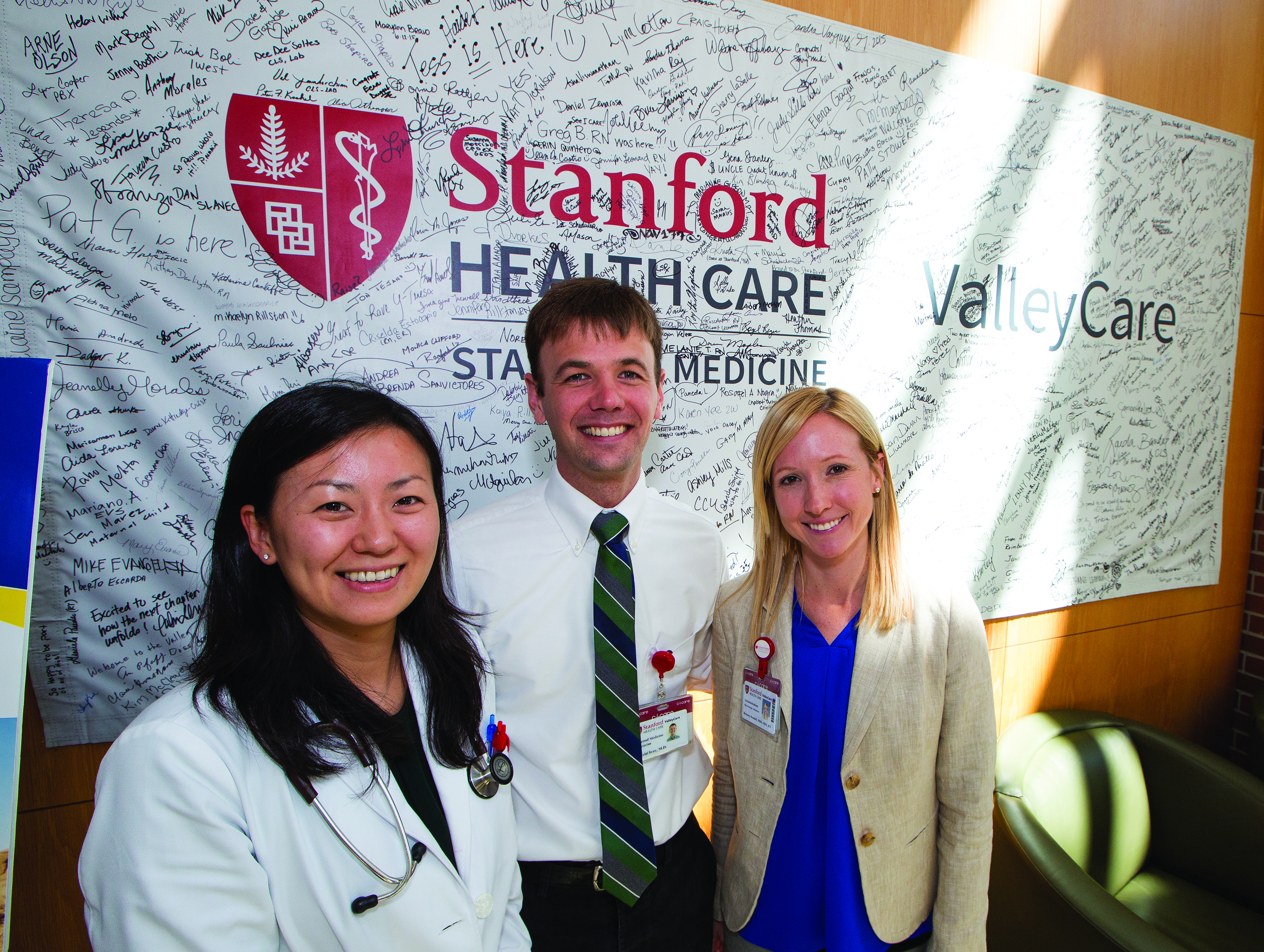 Merger of Stanford Health Care and ValleyCare Begins with the Start