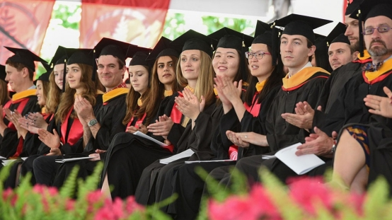 Graduates urged to embrace lifelong learning, adapt to change at medical school's 111th commencement