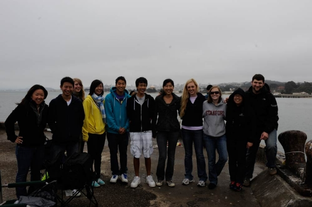 students on field trip