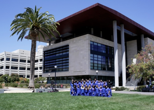 CSSEC group pic in front of Li Ka Shing Center