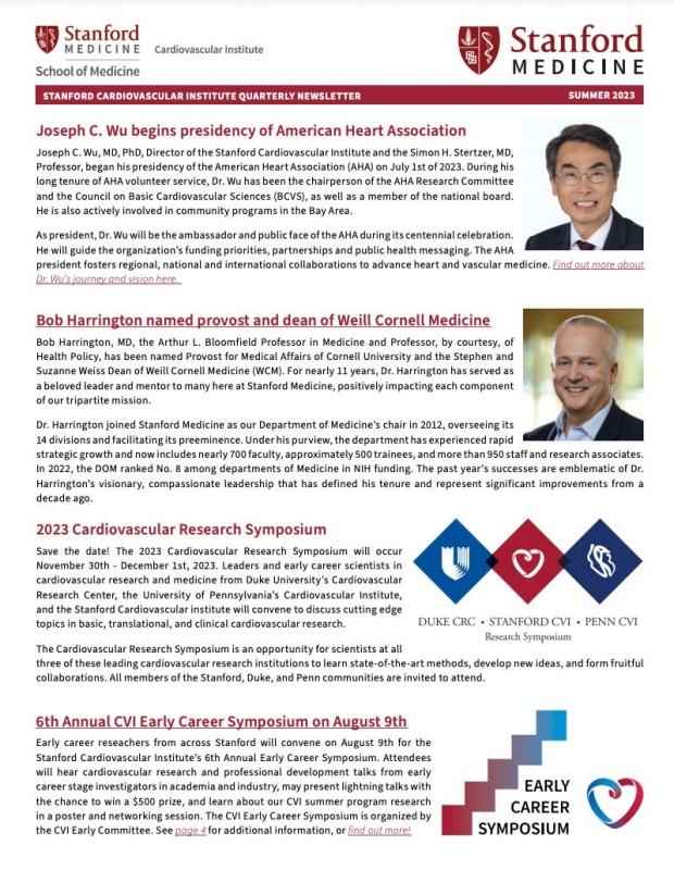cover of CVI Quarterly newsletter
