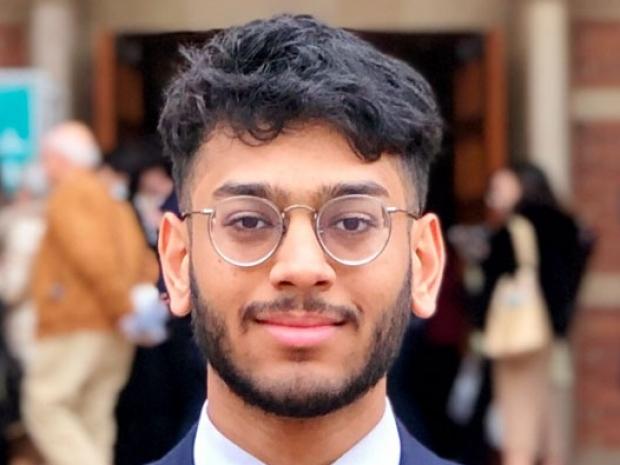 headshot of Parth Amin