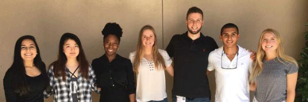 Undergraduate Program Awardees group picture
