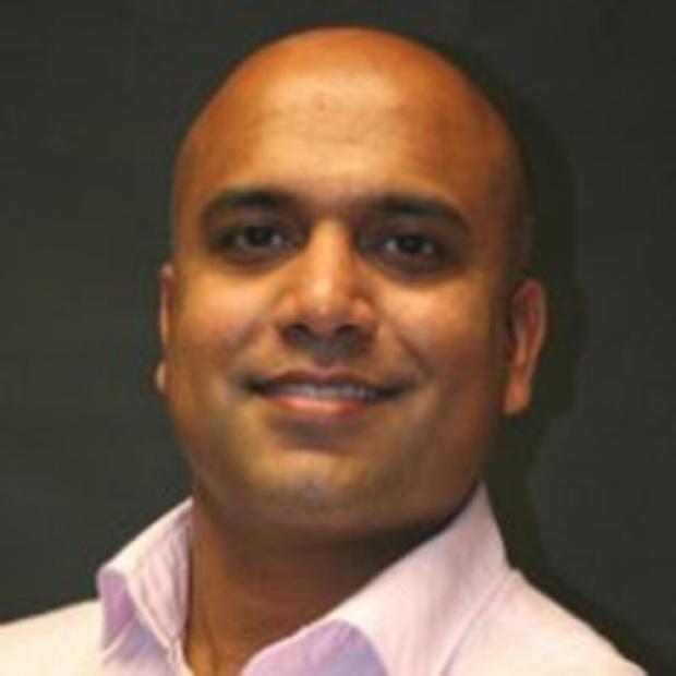 Natesh Parashurama smiling head shot