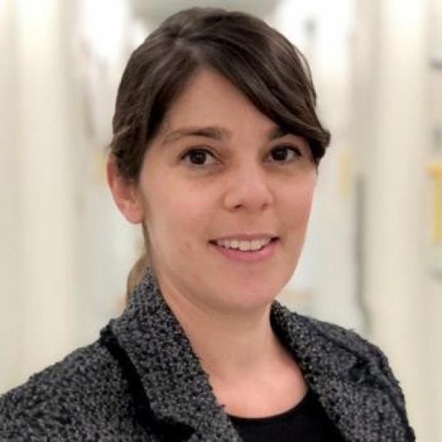 smiling headshot of Latha Palaniappan