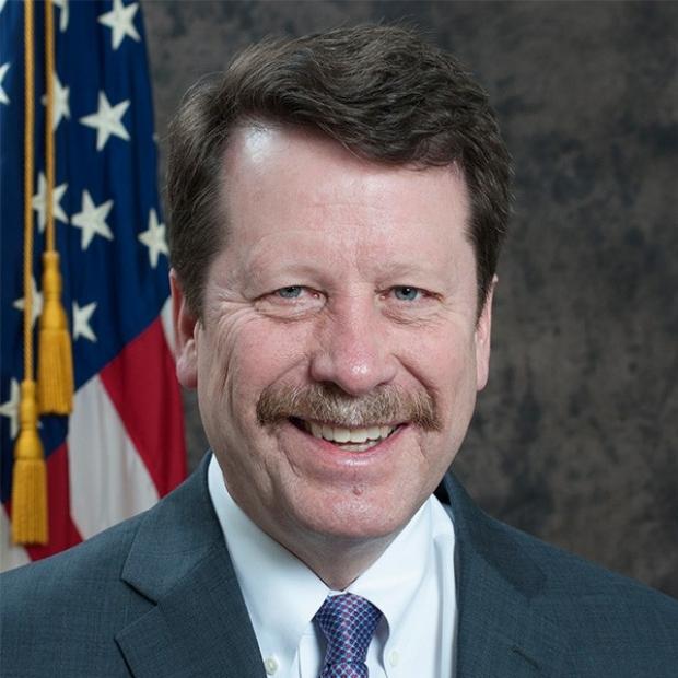 smiling headshot of Robert Califf