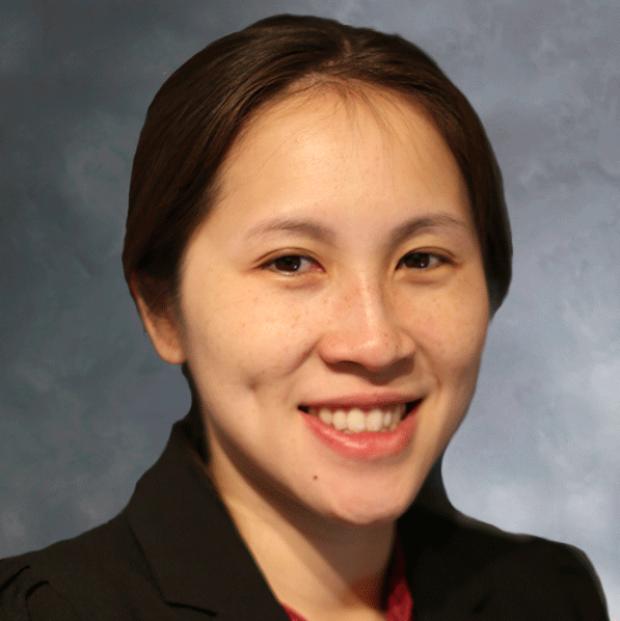 smiling headshot of Ngan Huang, PhD