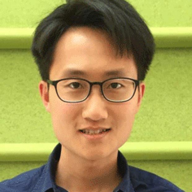 smiling head shot of Cheng-Yu Tsai, PhD
