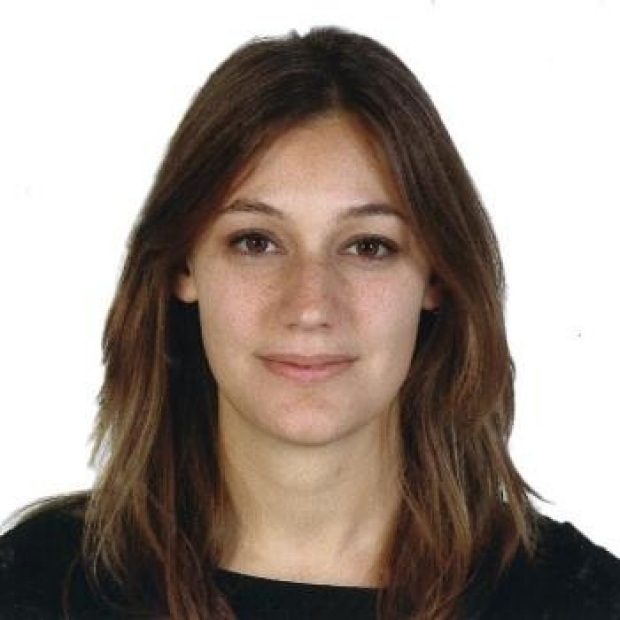 smiling headshot of Francesca Briganti, PhD