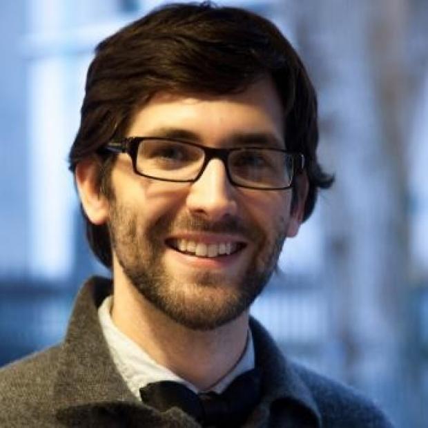 smiling headshot of Eric Appel, PhD