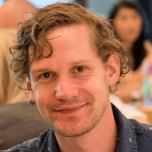 smiling head shot of Jan W. Buikema, MD PhD