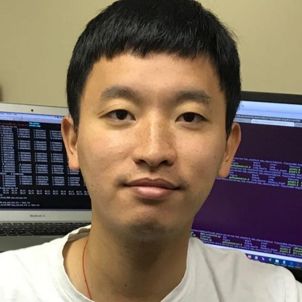 smiling head shot of Lei Tian, PhD