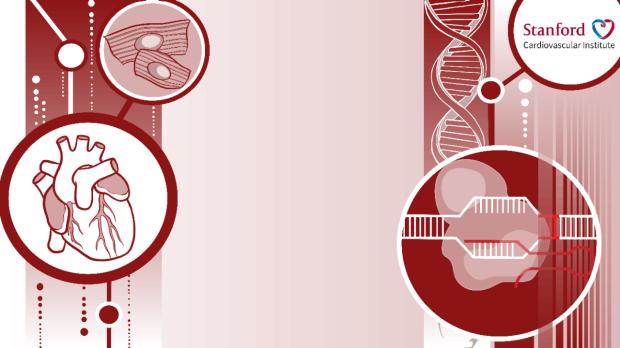 Stanford Cardiovascular Institute logo Zoom background