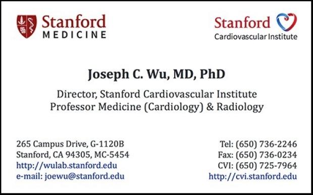 CVI business card template