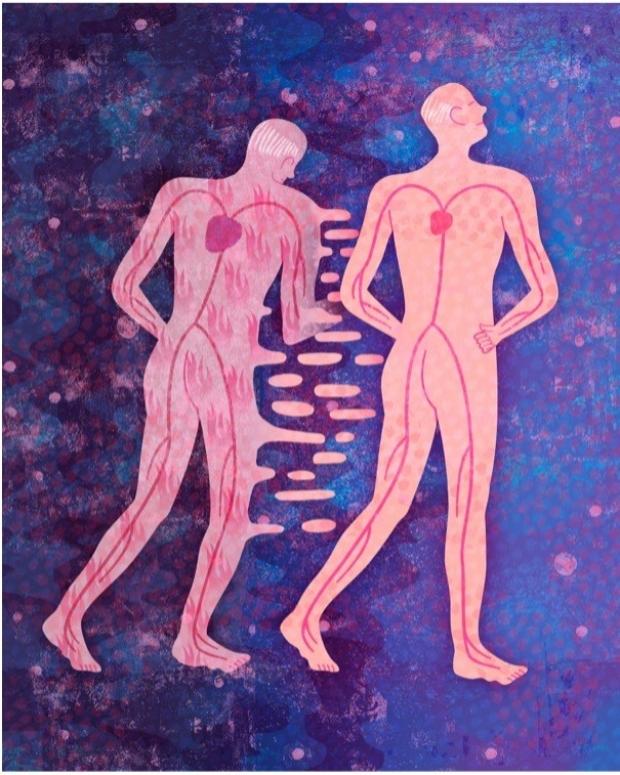 artist depiction of Cardiovascular Inflammaging