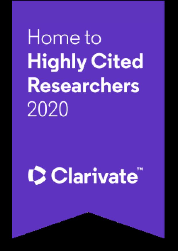 purple Clarivate banner