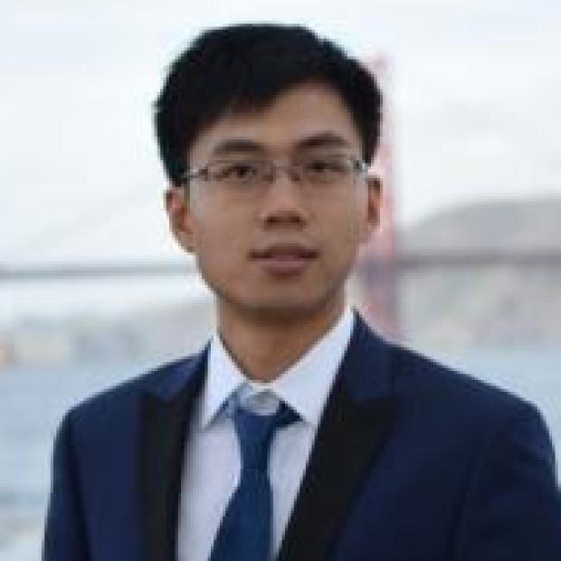 smiling headshot of Yuxin Liu