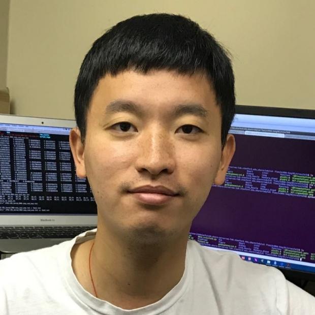 smiling headshot of Lei Tian, PhD