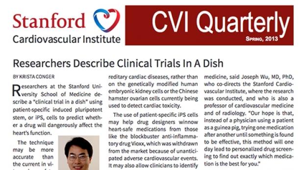 CVI Quarterly - Spring 2013