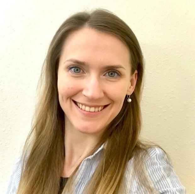 smiling headshot of Anna Hnatiuk