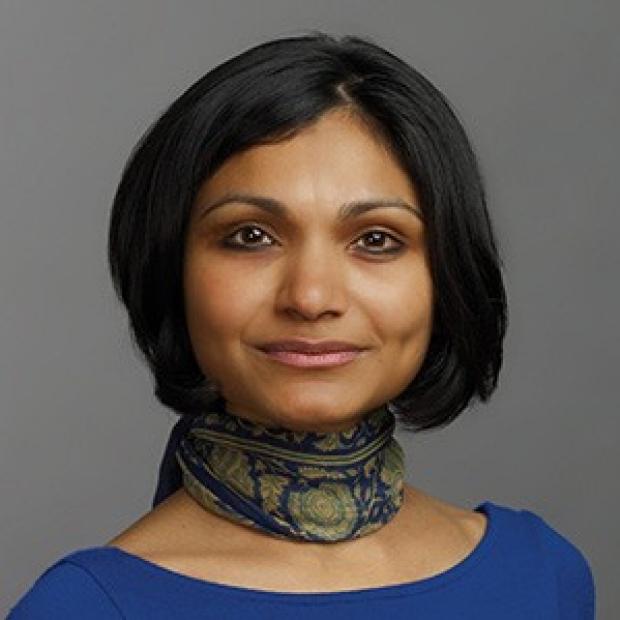 smiling headshot of Sushma Reddy