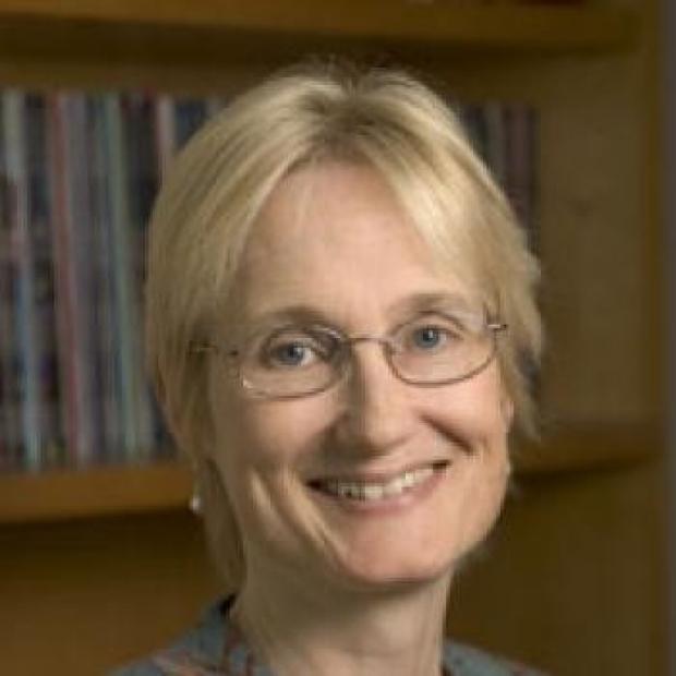 smiling headshot of Katrin Andreasson
