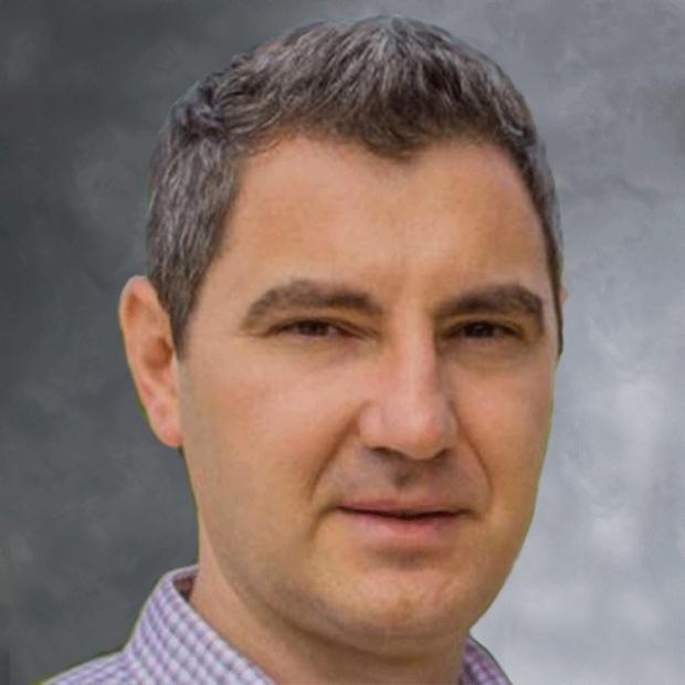smiling headshot of Mark Hlatky