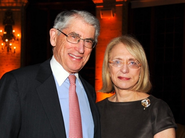 photo of smiling couple, Lawrence H. and Roberta Cohn