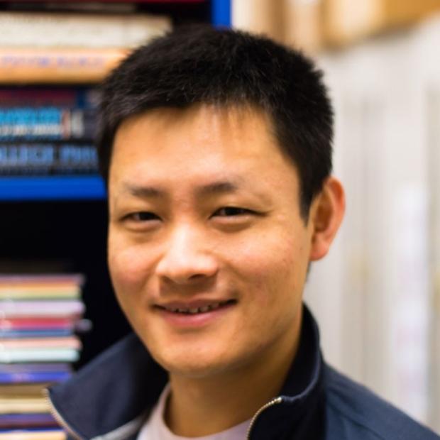 smiling headshot of Joe Zhang