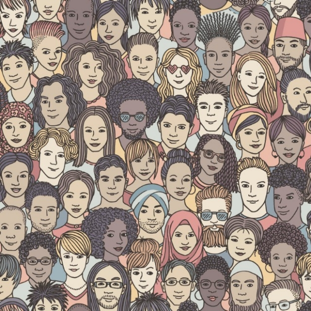 James Zou presenting at 2019 DBDS Symposium, courtesy of Steve Castillo Photography