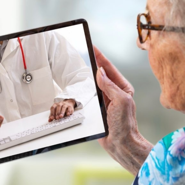 Older telehealth patient image courtesy of Stanford Scope