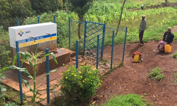 Asili water point in South Kivu province, DRC