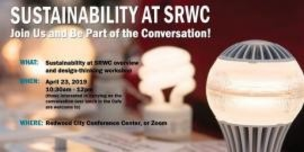 Sustainability at SRWC overview and design thinking workshop | Redwood City