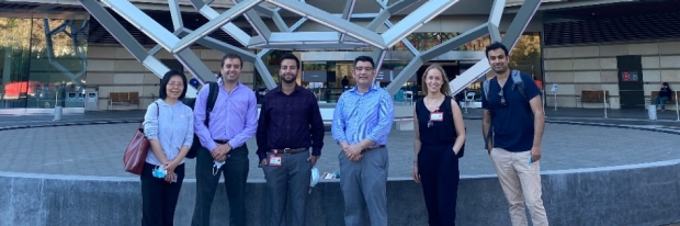 faculty and fellows at annual kidney week conference