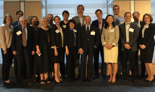 The faculty from the World Without Parkinson's symposium in NYC