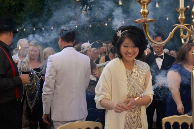 Laurice Yang at the Great Gatsby Gala