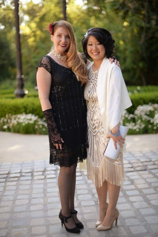 Veronica Santini and Laurice Yang at the Great Gatsby Gala