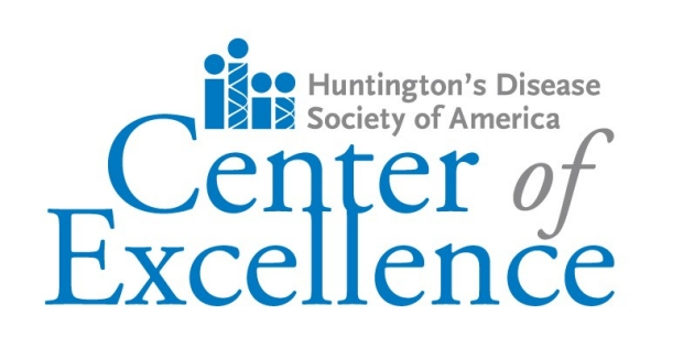 Huntington's Disearse Society of America Center of Excellence Logo
