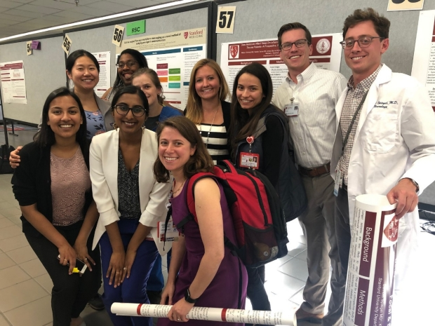 Stanford Neurology residents & fellows presented 20 posters at the 2019 Stanford Resident & Fellow Quality Improvement & Patient Safety Symposium