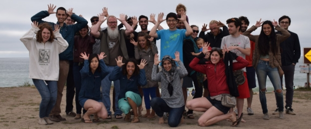 Palmer Lab Fun on the Beach