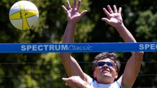 Net gains: Volleyball games offer more than just exercise