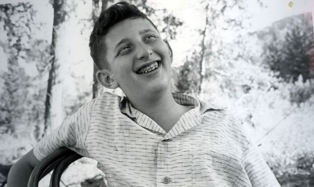 Irving Weissman as a teenager