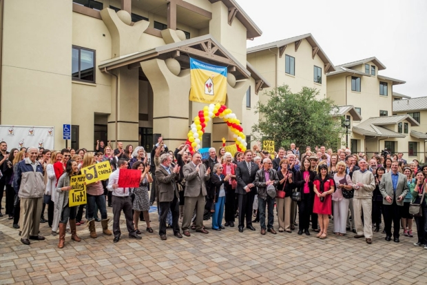 Opening of the Ronald McDonald House at Stanford