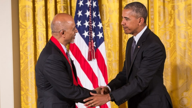 Verghese receives National Humanities Medal