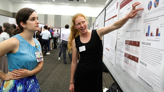 Event showcases med student research
